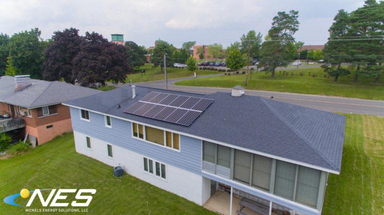 Solar panel project in Dewitt