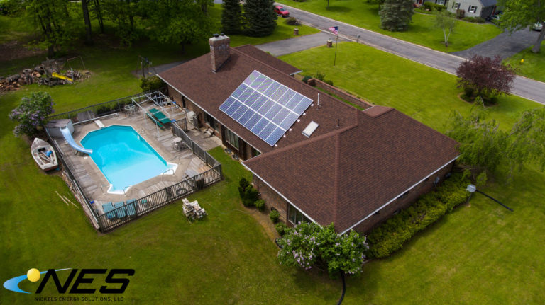 Solar panel project in Brewerton