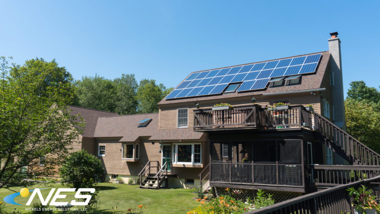 Solar panel project in Oswego