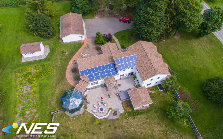 Solar panel project in Tully