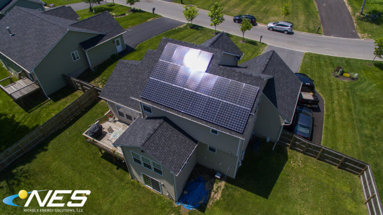 Solar panel project in Baldwinsville