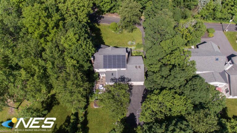Solar panel project in Fayetteville