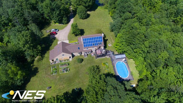 Solar panel project in Oswego