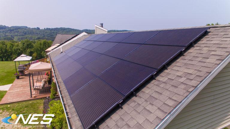 Solar panel project in Marietta