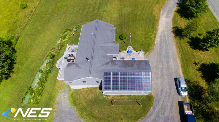 Solar panel project in Moravia