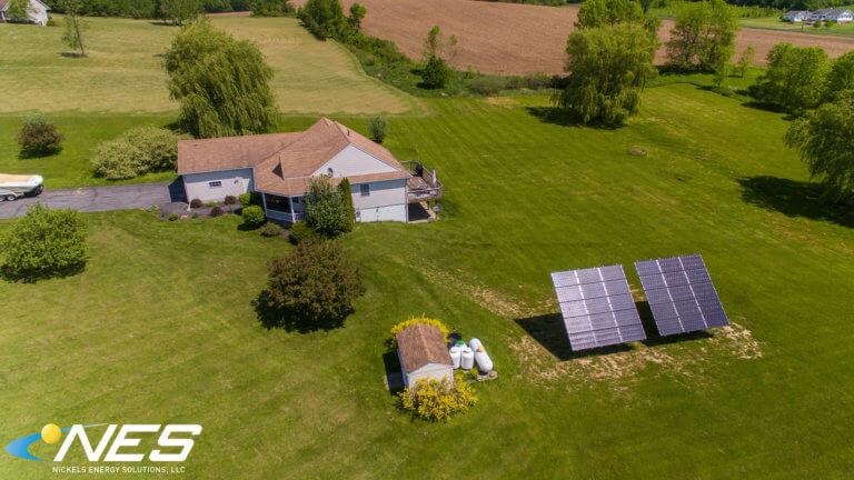 Solar panel project in Cato