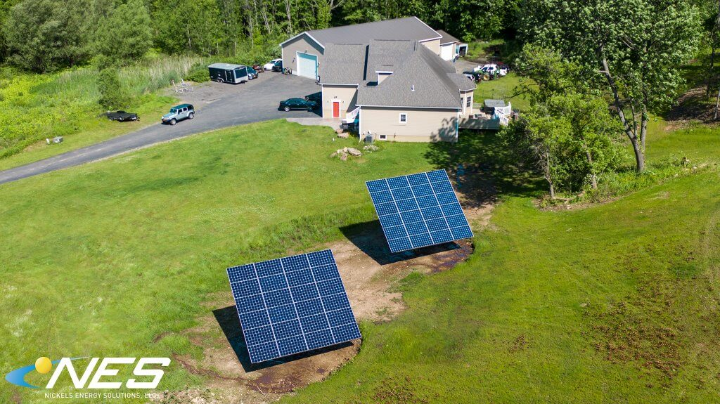 Pole Mounted Solar Panels | Nickels Energy Solutions