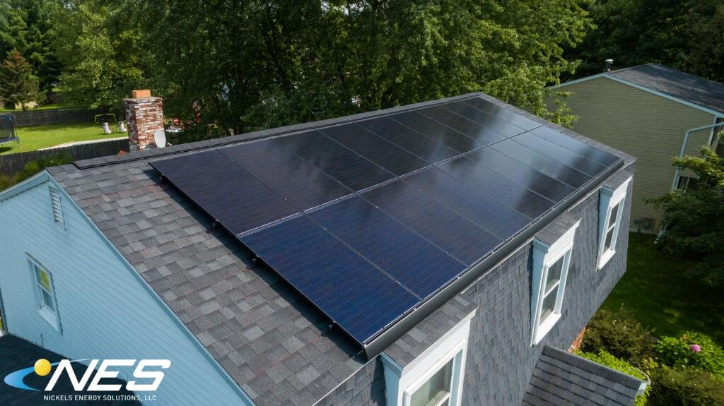 Solar skirts for solar panels
